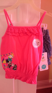 NWT Disney Baby summer set