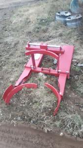 Unused Forklift barrel grab