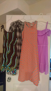 Set of 4 dresses size 12-14
