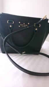 Kate spade black hand/shoulder bag