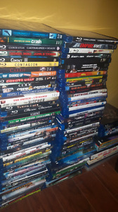 400 movies...333 Blu-Rays and 70 Dvds