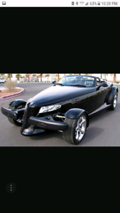 WANTED.  CHRYSLER OR PLYMOUTH PROWLER
