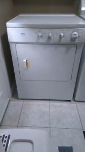 Gas dryer for sale.