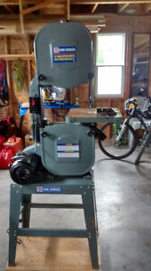 """14"""" King Band Saw and stand"""