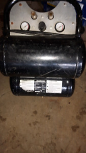 MotoMaster Electric Dual tank Air compressor