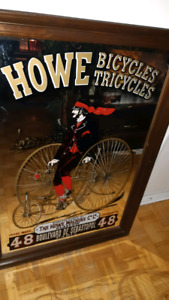 Old bicycle mirror in excellent condition