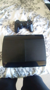 Ps3 super slim with games.