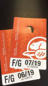 Parks Canada annual F/G discovery pass
