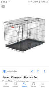 Lucky Paws dog crate