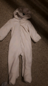 Old navy light lined fleece 9-12 months