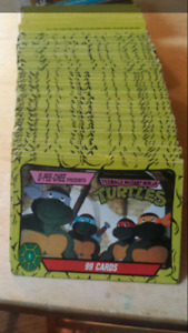 1989 Mirage Teenage Mutant Ninja Turtles/TMNT Trading Cards