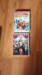Various Excellent Dvds