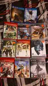Ps4 and ps3 games for sale