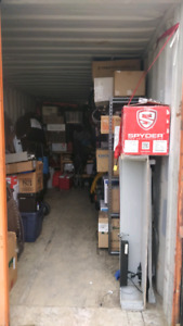 Storage locker sale! (A1 is NOT affiliated with this sale)