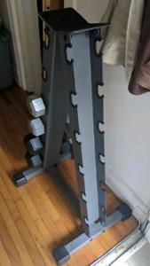 Dumbell rack (only)