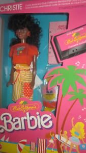 1987 Club California Christie AA Barbie Doll