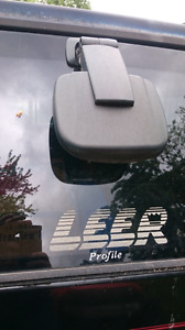 Leer truck cap with removable rack.