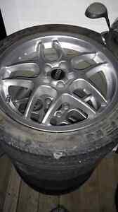 5 bolt BBS rims and tires