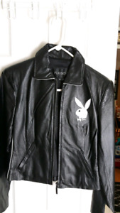 Authentic  Playboy Bunny leather jacket brand new