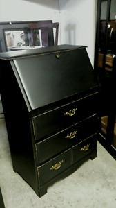 Drop front dresser