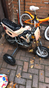 Kids gas powered bike