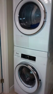 NEW PRICE Stackable Whirlpool washer and dryer