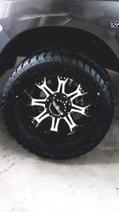 "BRAND NEW! 20"" MICKEY THOMPSON WHEEL PACKAGE!!"