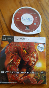 Spider-Man 2 , MUD video movie for PSP