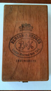 Cigar Box - Benson and Hedges - 10 cigar size