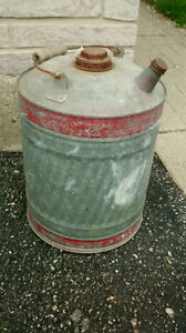 Vintage Tin Gas Can