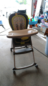 Greco dual high chair/booster