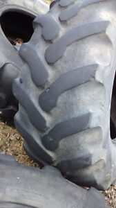 used backhoe tire