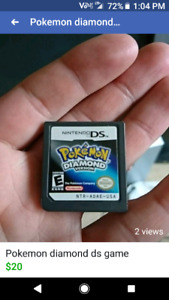 Pokemon ds game and psp games