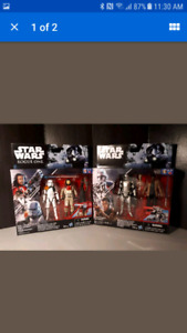 2 Star Wars 2 Packs of Action Figures 4 Total Toy