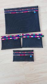 Accessory bag set of 4
