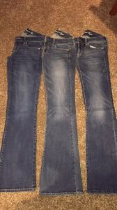 size 2 long America eagle jeans