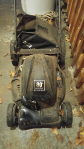 """Solaris 21"""" electric mulching lawn mower (see notes)"""