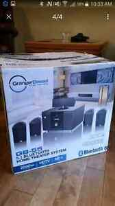 Granger Bessel home theatre system
