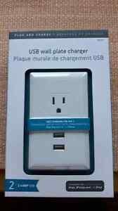 USB wall plate charger Peterborough Peterborough Area image 1