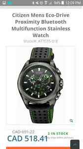 Citizen  eco drive  watch bluetooth