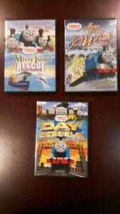 Thomas the tank train engine dvds