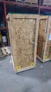 Reusable shipping crates in perfect condition