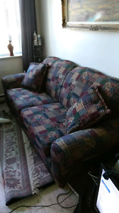 Kroehler Chesterfield good condition only$50