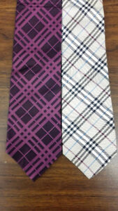 2 Burberry ties only $100