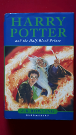 Harry Potter and the Half-Blood Prince FIRST EDITION