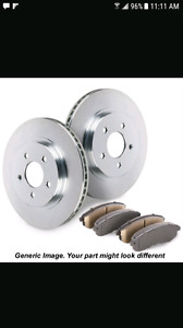 Acura mdx 2003 front brake rotors and pads