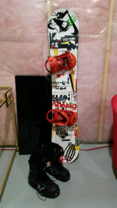 Complete Rome SDS Snowboard Package