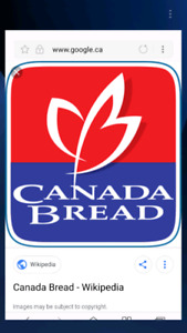 Canada bread franchise for sale