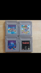 Lot of 4 Game Boy Games