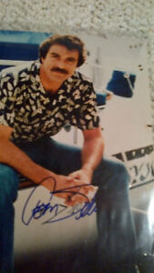 Male Movie Star Autographed Photo Collection